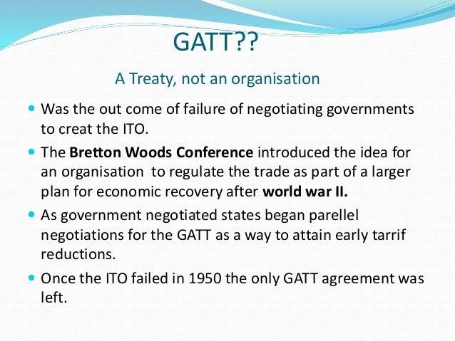 General agreement on tariffs and trade gatt gatt a treaty platinumwayz