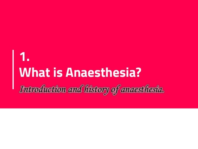 General Anaesthesia Slide 3