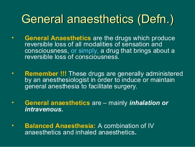 General anaesthesia (New) - drdhriti  Slide 3