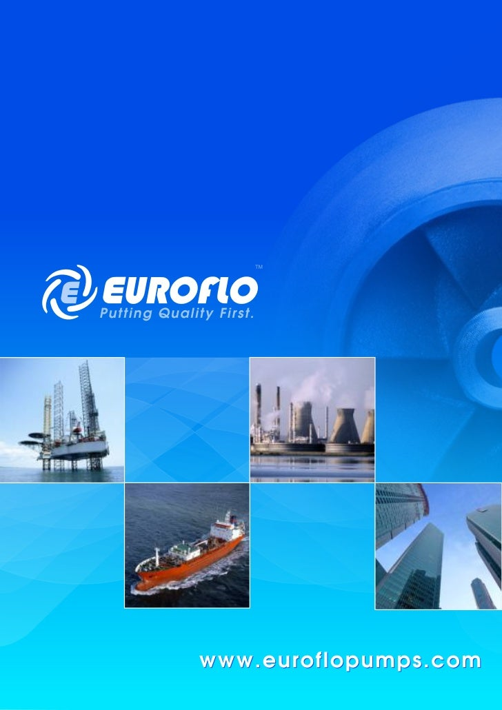 Centrifugal Pump Euroflo General Brochure
