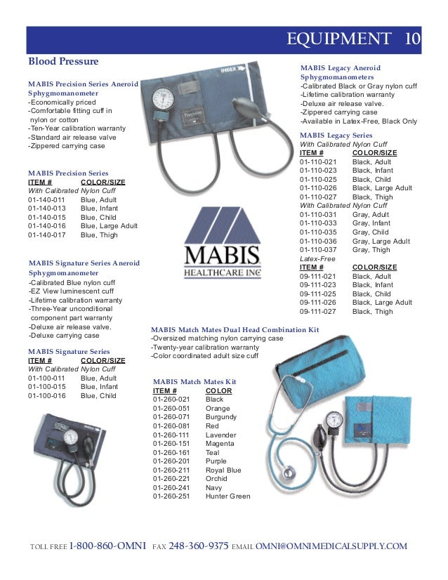 General Catalog Of Omni Medical Supply