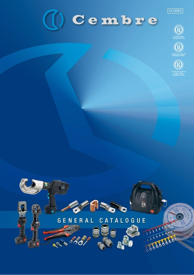 Cembre - Hydraulic Tools, Mechanical Tools, Crimping Tools, Cable Cut…