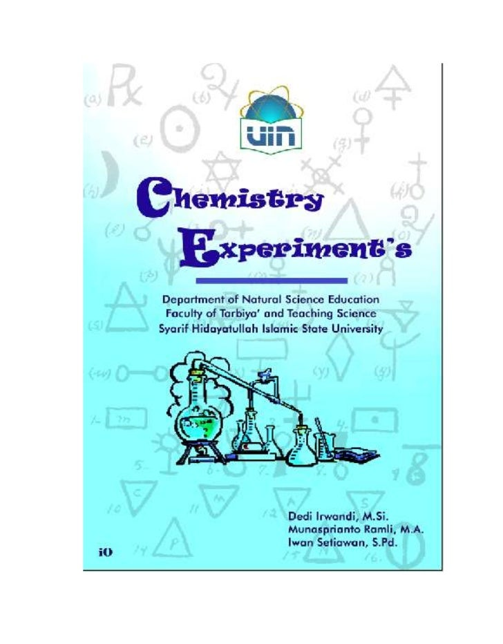 experiments in general chemistry pdf