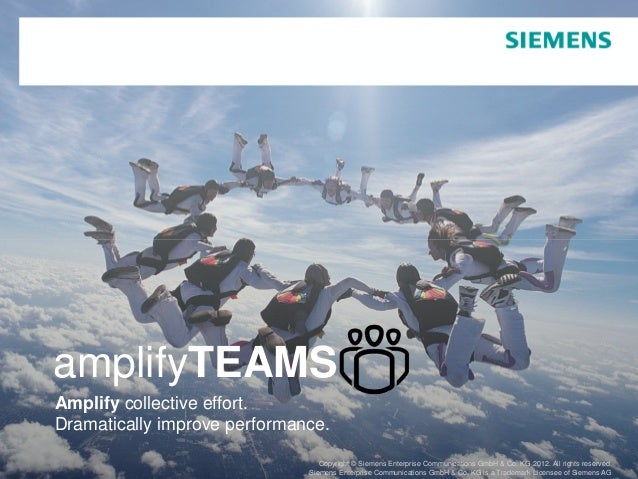 amplifyTEAMS         Amplify collective effort.         Dramatically improve performance.                                 ...