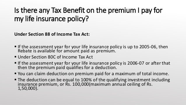 Overview of Canadian taxation of life insurance policies