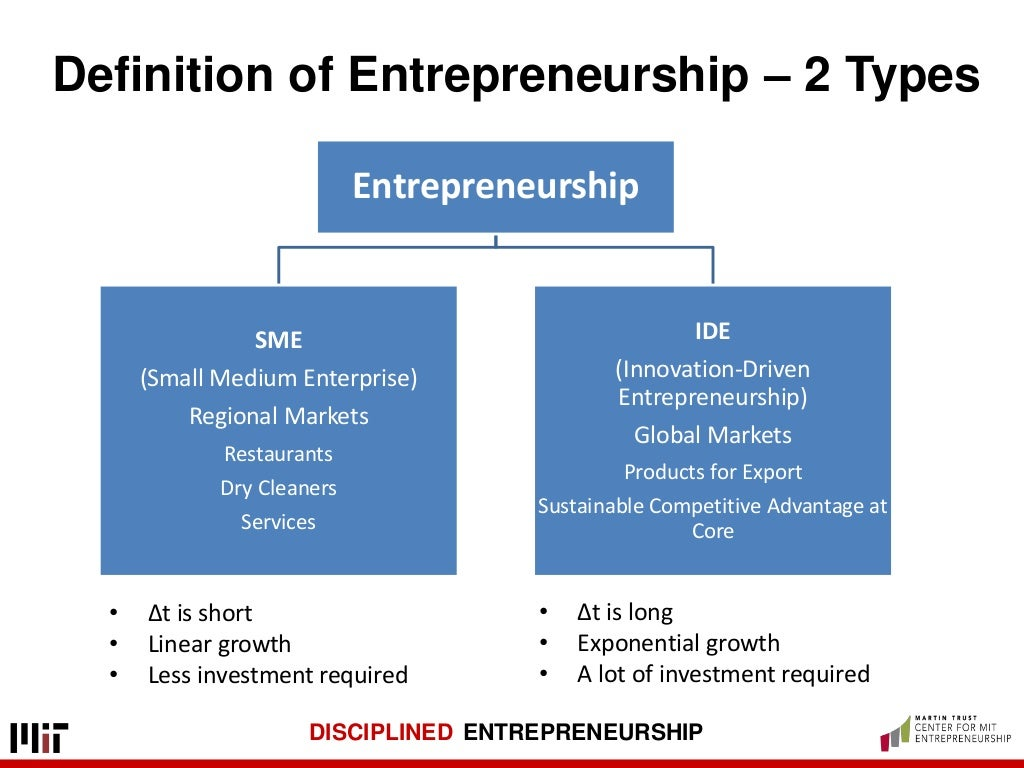 """the advantages of entrepreneurship Advantage: you are the boss so you can decided when you work and when you don't work you can vacation whenever you want and have a """"sick day"""" whenever you want disadvantage: in order to run a successful business many entrepreneurs tend to work even more hours than the average full time employee to get their company off the."""