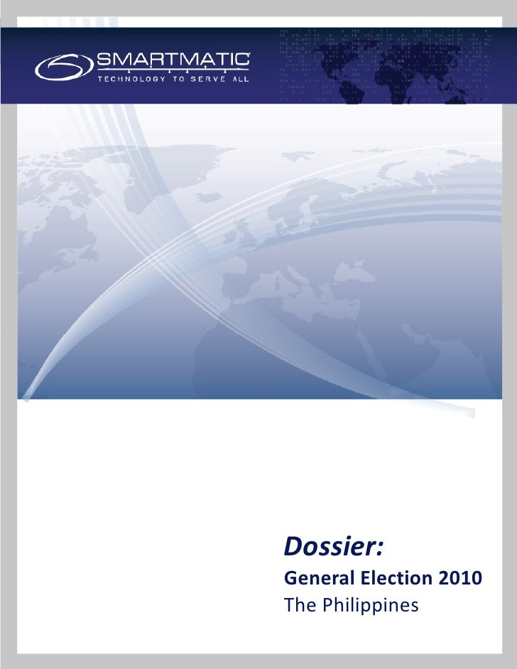 Dossier:General Election 2010The Philippines