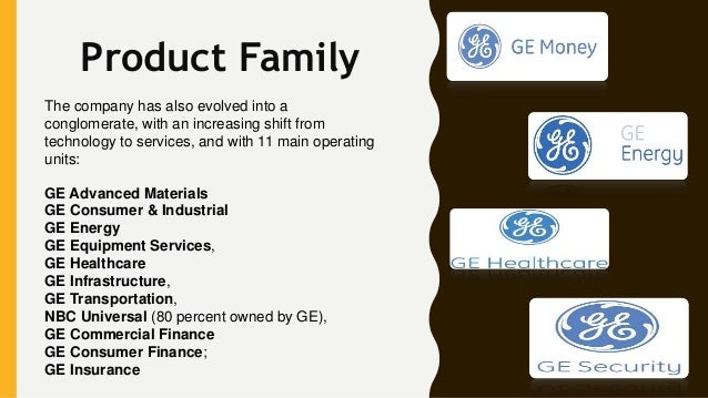 General Electric Marketing Mix
