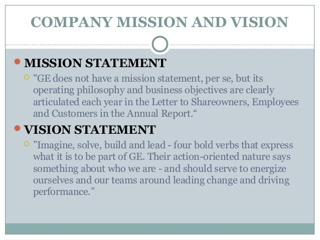 Mission statement of mobinil company