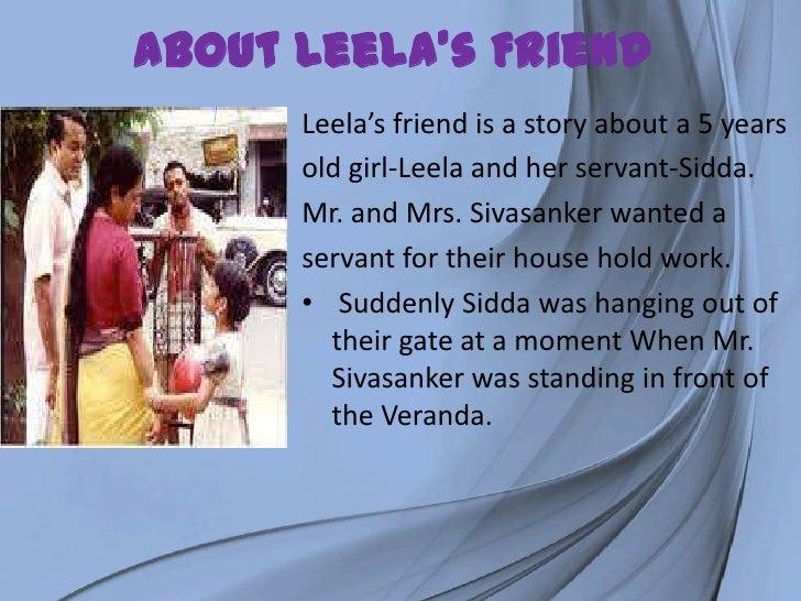 leelas friend project work