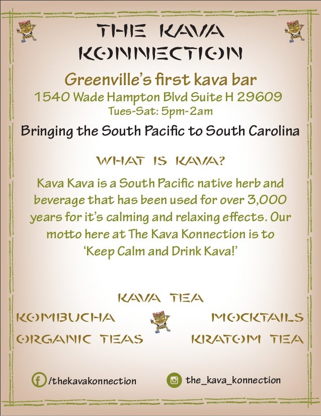 The Kava Konnection Kava Kava Kratom Organic Teas
