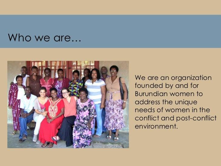 Friends Women's Association Slide 2