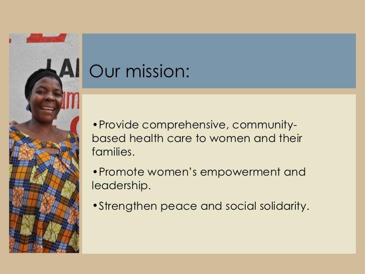 Friends Women's Association Slide 3
