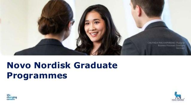 Presentation title Date 1 Novo Nordisk Graduate Programmes