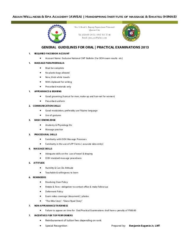Asian Wellness & Spa Academy (AWSA) | Handspring Institute of massage & Shiatsu (HIMAS) No. 3, Road 1, Bagong Pag-asa (nea...