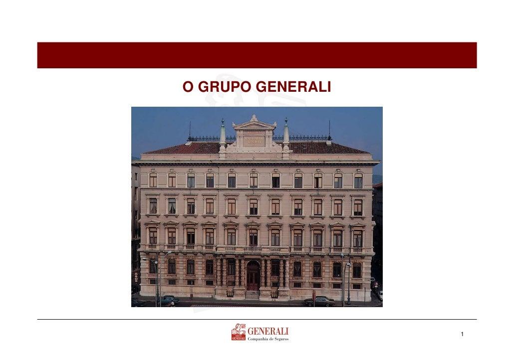 O GRUPO GENERALI                   1