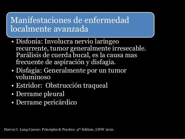 Síndromes paraneoplásicos La mayoría producidos por cáncer microcítico de pulmón Síndrome de secreción inadecuada de hormo...