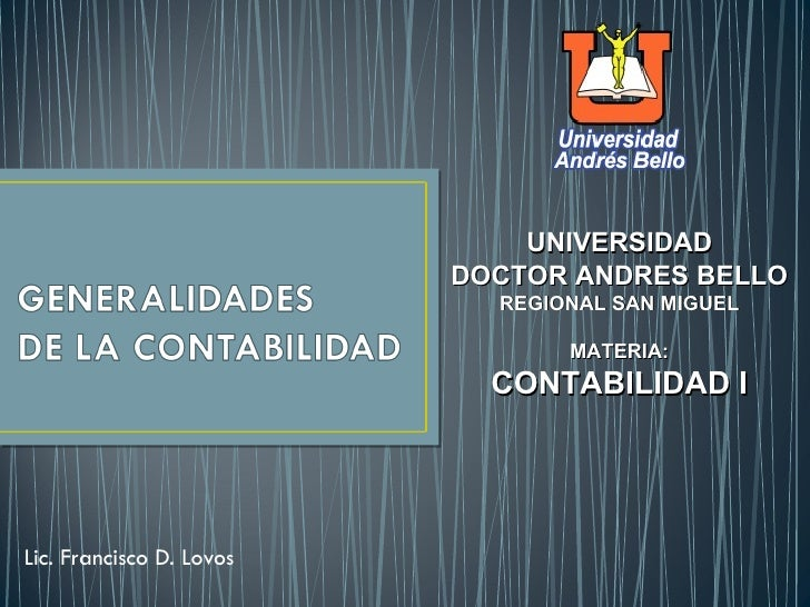 UNIVERSIDAD                          DOCTOR ANDRES BELLO                            REGIONAL SAN MIGUEL                   ...