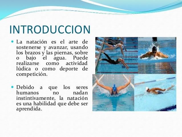 Generalidades de la natación