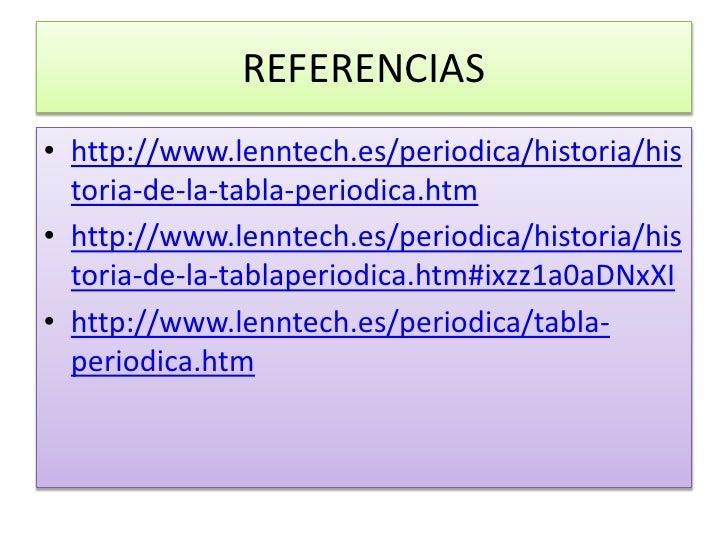 tabla peridica moderna 6 - Tabla Periodica Lenntech