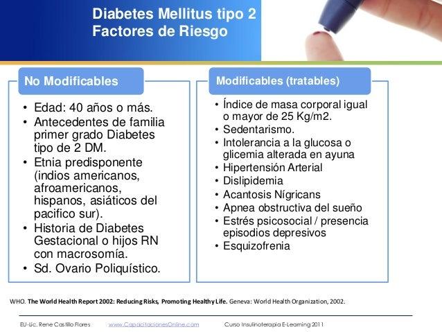 Generalidades diabetes mellitus rené castillo flores 2012