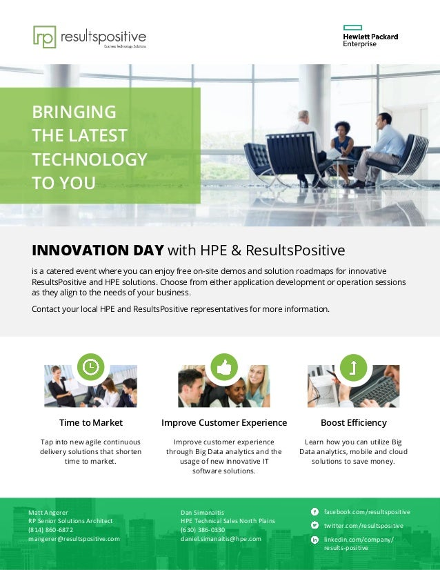 BRINGING THE LATEST TECHNOLOGY TO YOU Boost EfficiencyImprove Customer ExperienceTime to Market Tap into new agile continu...