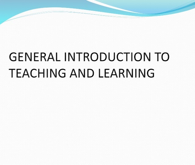 introduction to teaching and learning A teaching and learning element we are satisfied with is the collaboration in 3rd grade between a number of different subject areas which has been going really well really looking forward to meeting you all in vancouver this week.