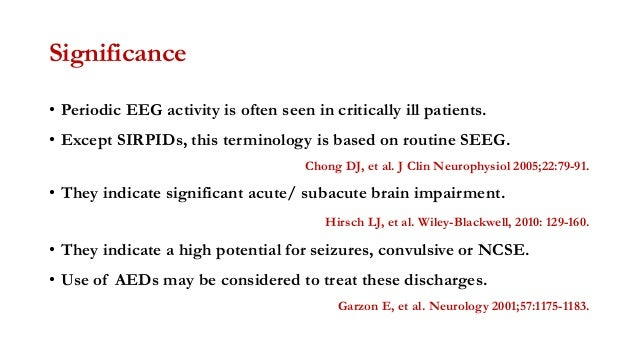Prevalence of epileptiform discharges in healthy 11- and ...