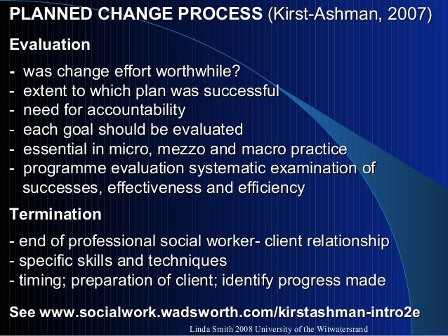 the concept of the generalist model in social work Professional model of social work practice  model because its approach to client empowerment leans towards a generalist model of practice  these concepts .