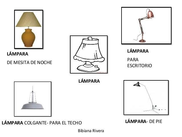 LÁMPARA LÁMPARA DE MESITA DE NOCHE LÁMPARA PARA ESCRITORIO LÁMPARA COLGANTE- PARA EL TECHO LÁMPARA- DE PIE Bibiana Rivera