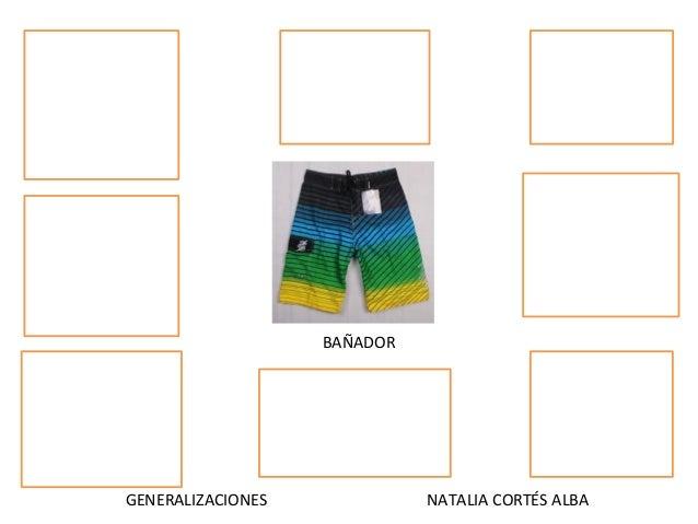 GENERALIZACIONES NATALIA CORTÉS ALBA BAÑADOR