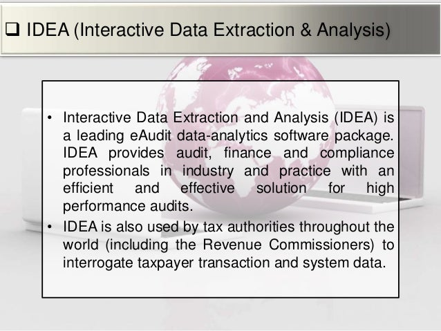 generalized audit software This study aimed to understand whether the use of generalized audit software ( gas) in the audit process had an impact on the auditors.
