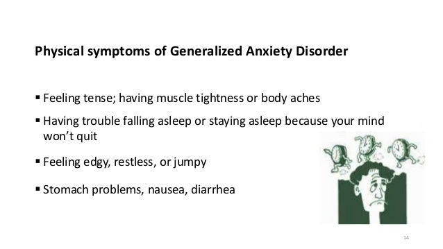 College essay anxiety disorder