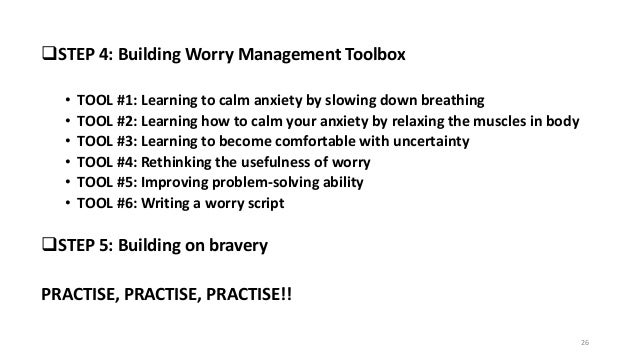 How To Make Yourself Calm Down From Anxiety