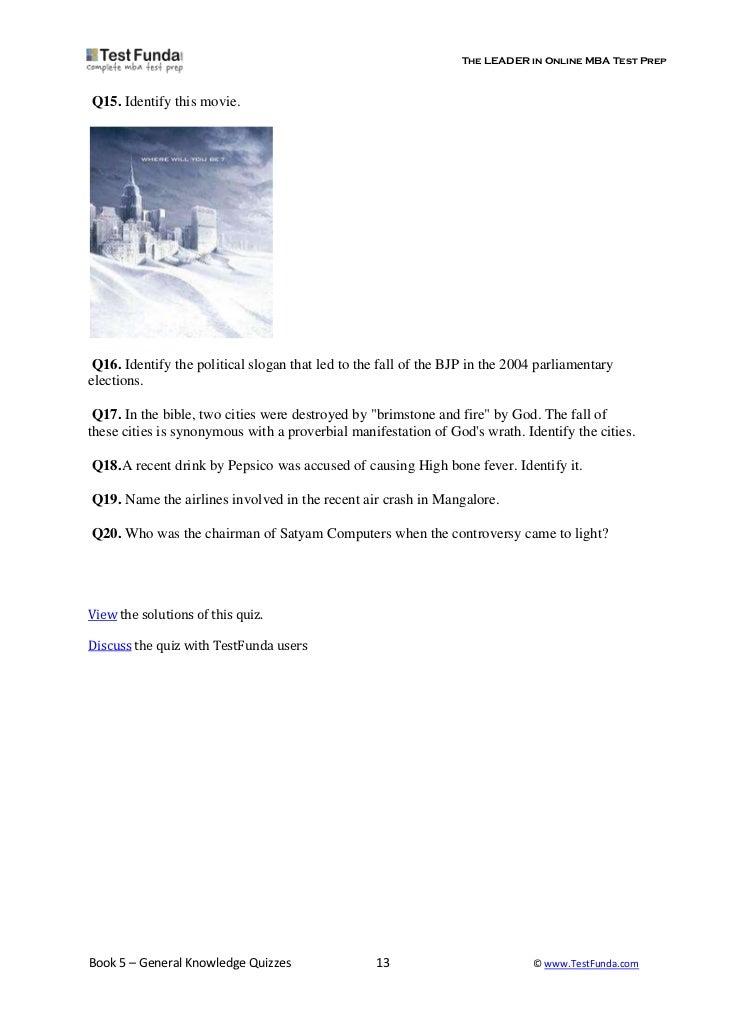 General knowledge quiz prakash somani_p_somani@yahoo co in