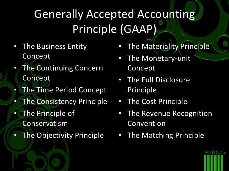 generally accepted accounting principles and relevant Financial accounting and  accounting standards (generally accepted accounting principles)  accounting provides reliable, relevant, and timely information to .