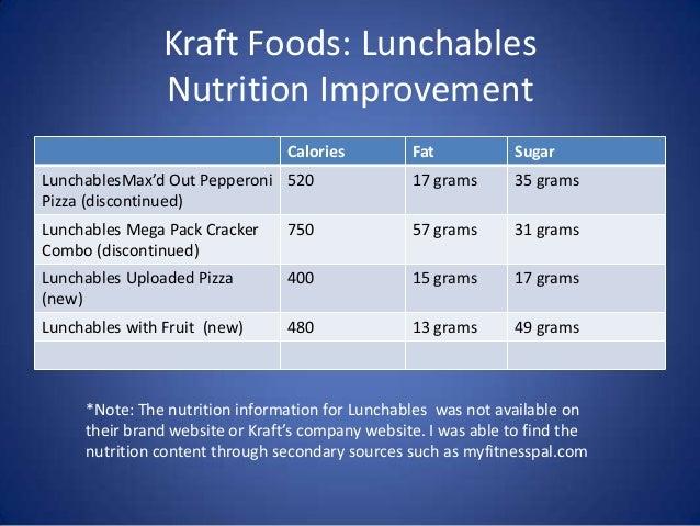 General Mills Vs Kraft Foods
