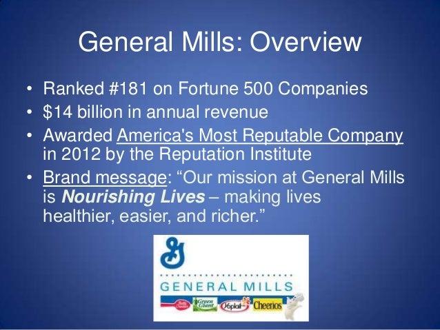 general mills mission