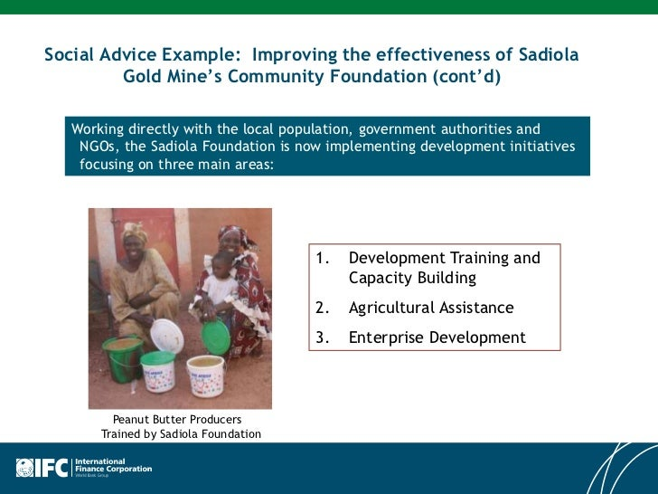 International Finance Corporation Ifc Investing In The Mining Sec