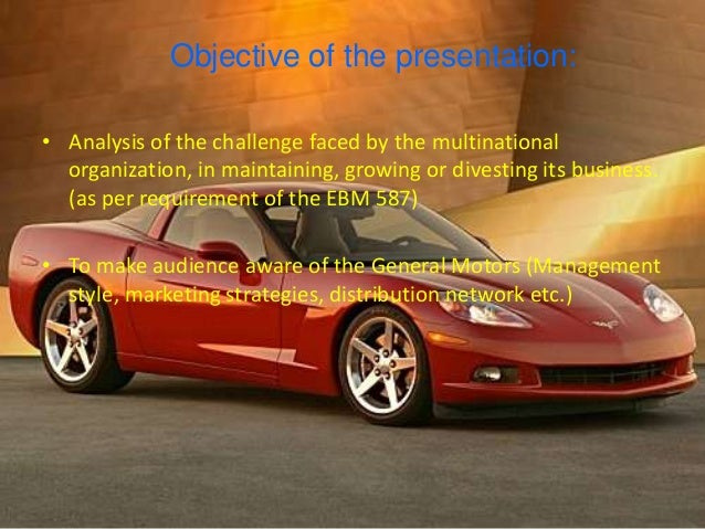 general motors management style