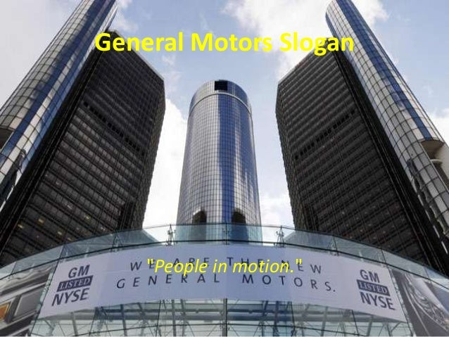 General Motors And Outsourcing