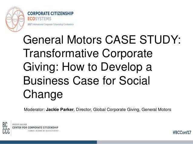 Case study: GM OnStar