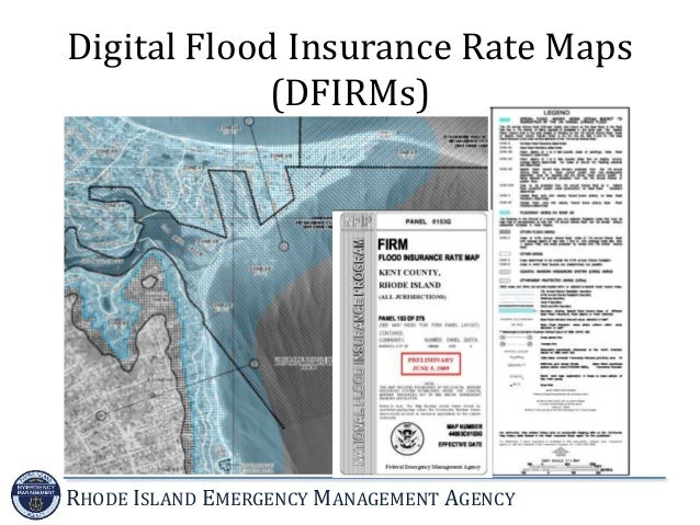 Introduction To The National Flood Insurance Program - Digital flood insurance rate map