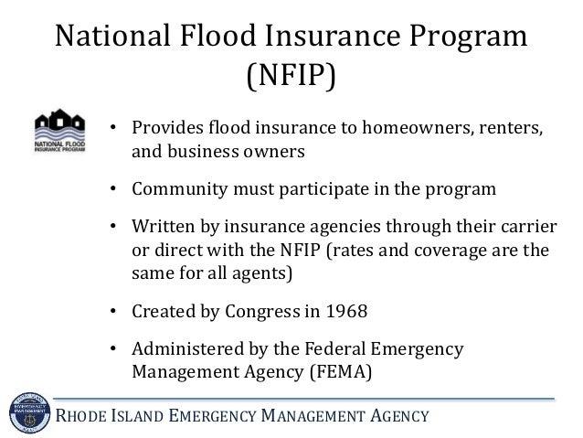 introduction to the national flood insurance program. Black Bedroom Furniture Sets. Home Design Ideas