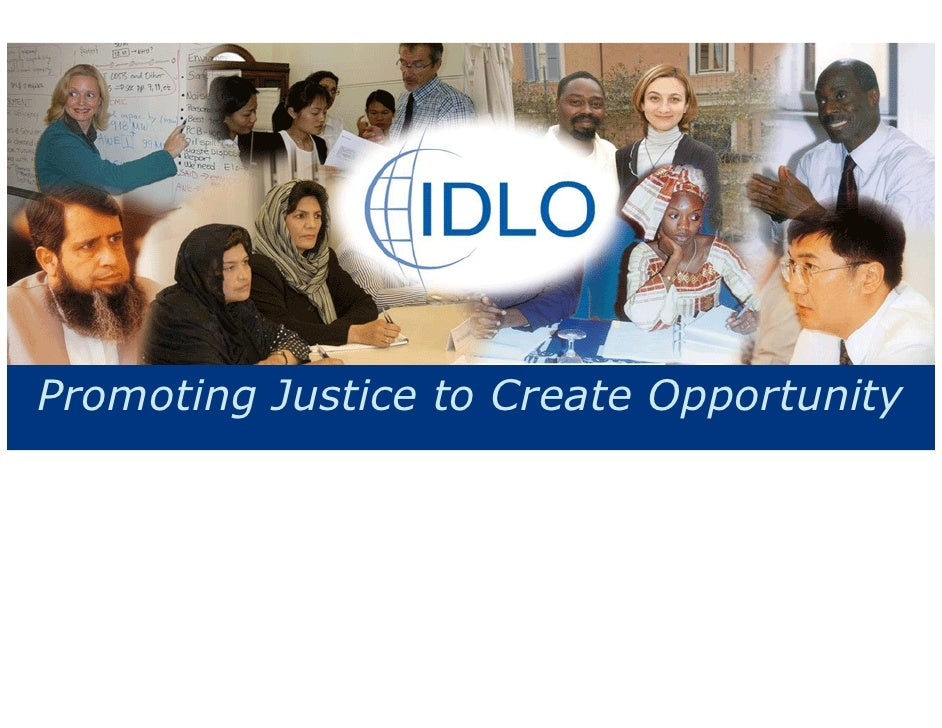 Promoting Justice to Create Opportunity