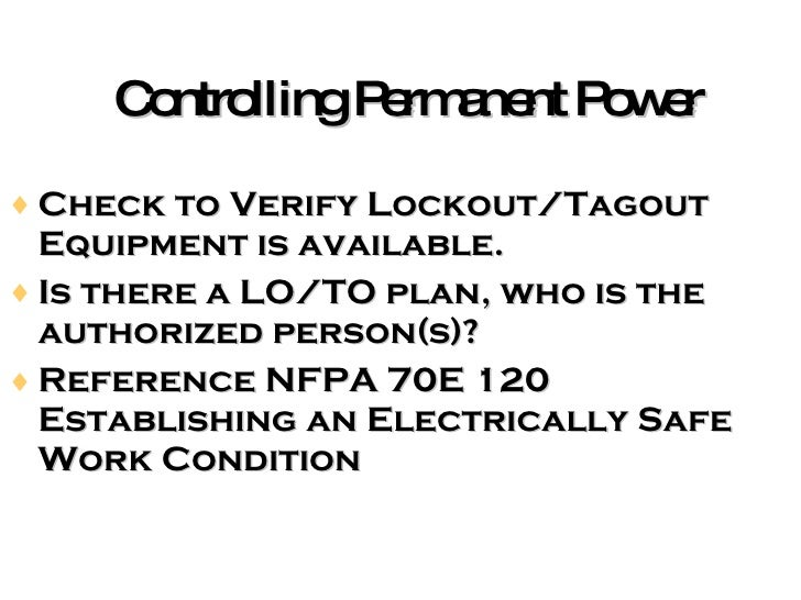 general or gc electrical safety