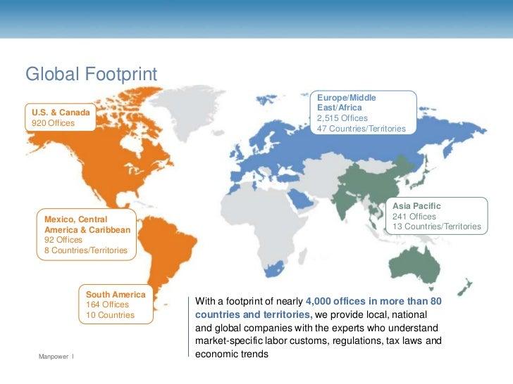 Global Footprint                                                        Europe/Middle                                     ...