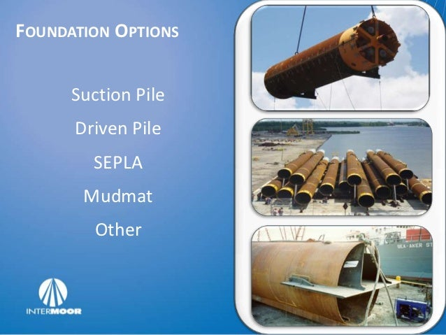 TYPICAL FIELD FOUNDATIONS                            Manifold Foundation• Well Conductors           Mooring Anchors• Host ...
