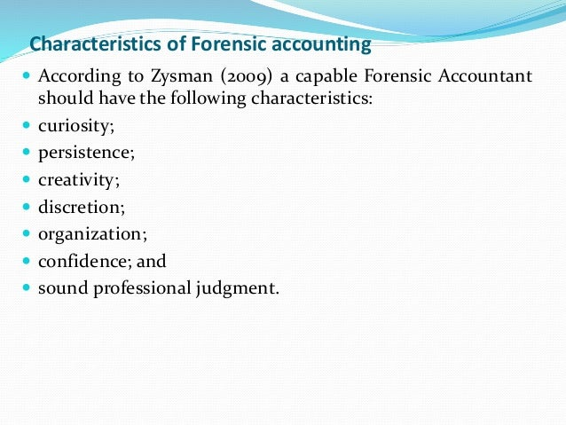 forensic accounting and your organization National association of forensic learning organization the national in various fields of forensic accounting and provides availability and.