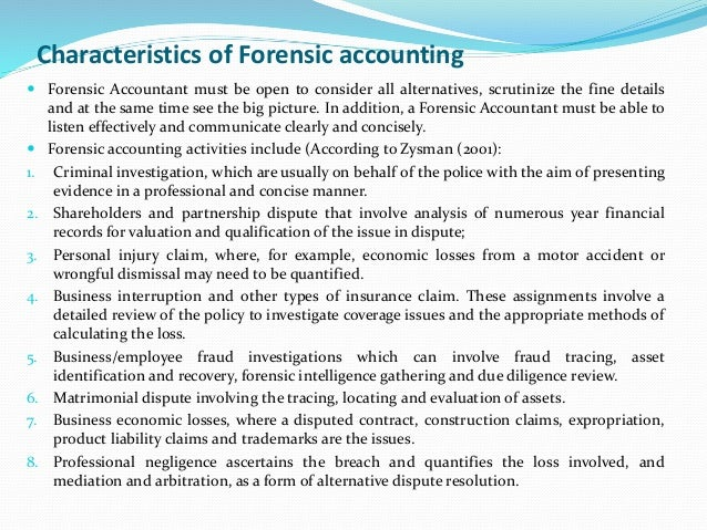 the characteristics of the accounting profession in general An accountant is a certified financial professional who performs functions such   (certified general accountant) and cma (certified management accountant).